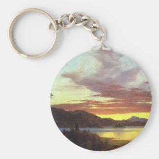 Frederic Edwin Church - A Sunset Keychain