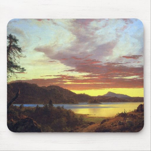 Frederic Edwin Church - A Sunset Mouse Pad