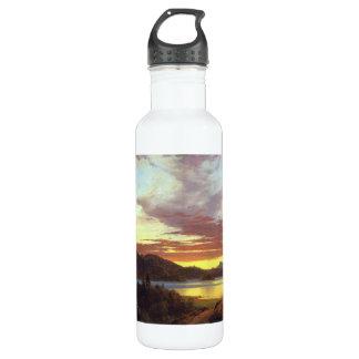 Frederic Edwin Church - A Sunset 24oz Water Bottle
