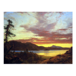 Frederic Edwin Church - A Sunset Postcards