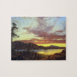 Frederic Edwin Church - A Sunset Puzzle