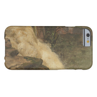 Frederic Edwin Church - A Waterfall in Colombia Barely There iPhone 6 Case