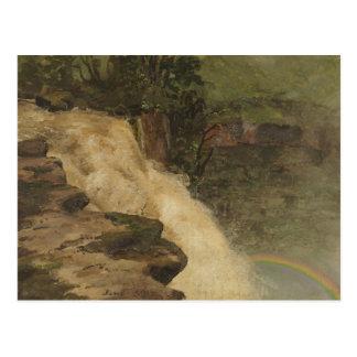 Frederic Edwin Church - A Waterfall in Colombia Postcard