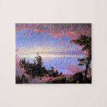 Frederic Edwin Church - Above the clouds at sunris Jigsaw Puzzles