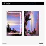 Frederic Edwin Church - Above the clouds at sunris Kindle Fire Skin