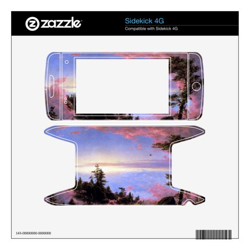 Frederic Edwin Church - Above the clouds at sunris Decal For Sidekick 4G