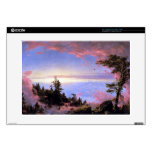 Frederic Edwin Church - Above the clouds at sunris Laptop Decal