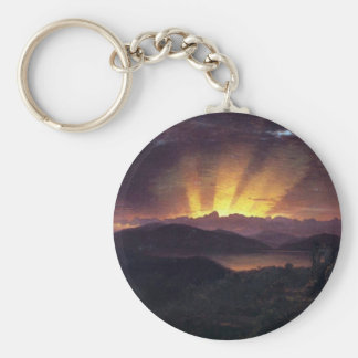 Frederic Edwin Church - After the annealing Key Chains