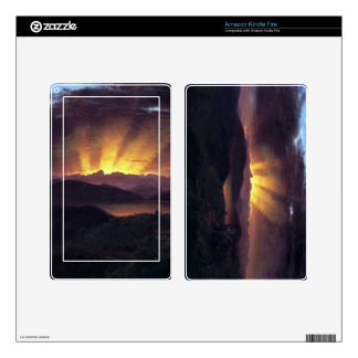 Frederic Edwin Church - After the annealing Kindle Fire Skin