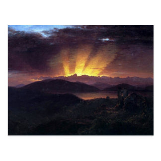 Frederic Edwin Church - After the annealing Postcard