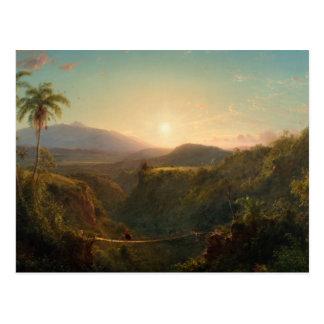 Frederic Edwin Church - American - Pichincha Postcard
