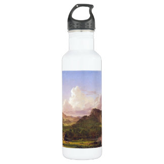Frederic Edwin Church - At home on the lake 24oz Water Bottle