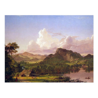 Frederic Edwin Church - At home on the lake Postcard