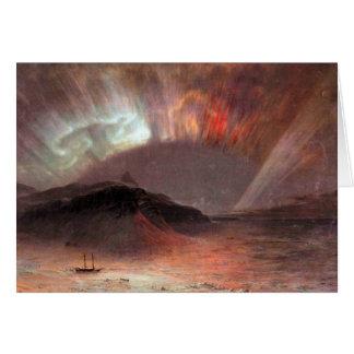 Frederic Edwin Church - Aurora Borealis Stationery Note Card