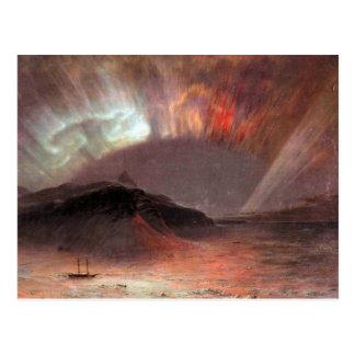 Frederic Edwin Church - Aurora Borealis Postcard