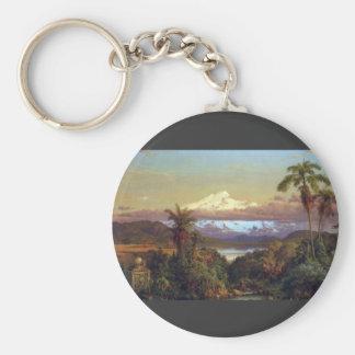 Frederic Edwin Church - Cayambe Ecuador Key Chain