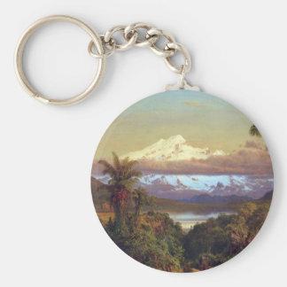 Frederic Edwin Church - Cayambe Ecuador Keychain