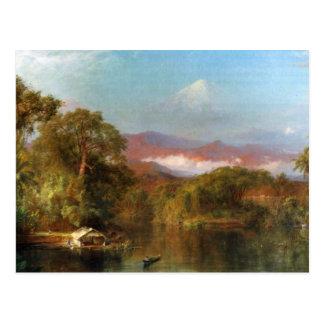 Frederic Edwin Church - Chimborazo Ecuador Post Cards