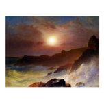 Frederic Edwin Church - Coast Scene Mount Desert Postcard