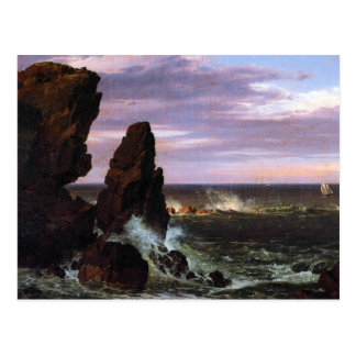 Frederic Edwin Church - Coastal scene Postcard