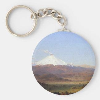 Frederic Edwin Church - Cotopaxi Ecuador Keychains