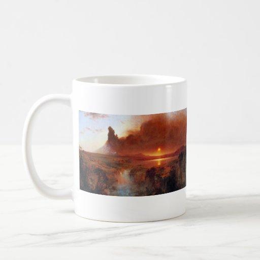 Frederic Edwin Church - Cotopaxi Ecuador Classic White Coffee Mug