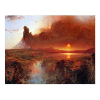 Frederic Edwin Church - Cotopaxi Ecuador Postcard