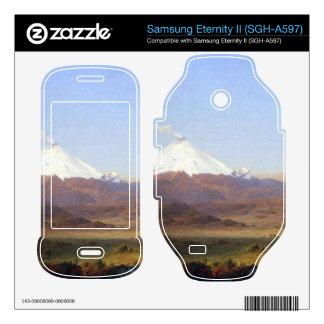Frederic Edwin Church - Cotopaxi Ecuador Samsung Eternity II Decal