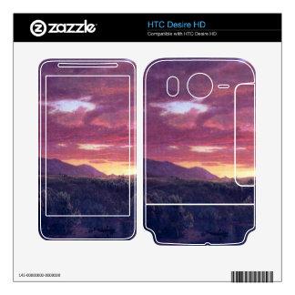 Frederic Edwin Church - Dusk (sunset) HTC Desire HD Skin