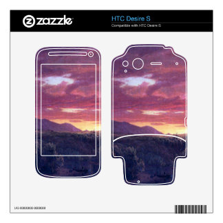Frederic Edwin Church - Dusk (sunset) Decals For HTC Desire S