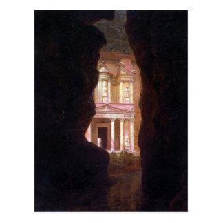 Frederic Edwin Church - El Khasne Petra Post Card