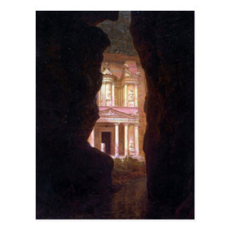 Frederic Edwin Church - El Khasne Petra Postcard