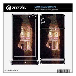 Frederic Edwin Church - El Khasne Petra Motorola Milestone Skin