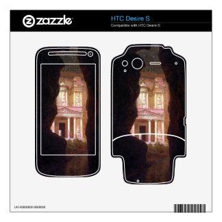Frederic Edwin Church - El Khasne Petra Skin For HTC Desire S