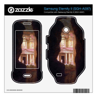 Frederic Edwin Church - El Khasne Petra Samsung Eternity II Decal