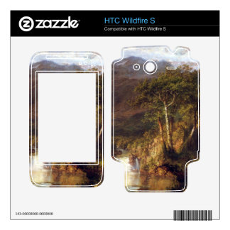 Frederic Edwin Church - Heart of the Andes Detail Decal For HTC Wildfire S
