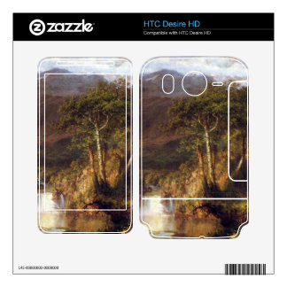 Frederic Edwin Church - Heart of the Andes Detail Decal For HTC Desire HD
