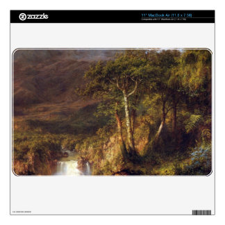 Frederic Edwin Church - Heart of the Andes Detail Skins For The MacBook Air