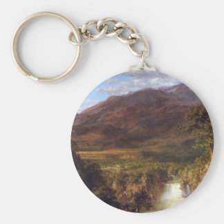 Frederic Edwin Church - Heart of the Andes Keychain