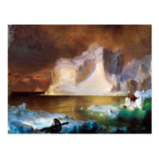 Frederic Edwin Church - Iceberg Postcard