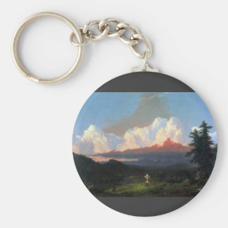 Frederic Edwin Church - In memory of Cole Keychains