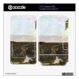 Frederic Edwin Church - In the Catskills -Thomas C HTC Desire HD Skin