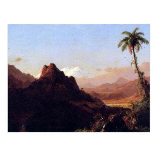 Frederic Edwin Church - In the tropics Postcard