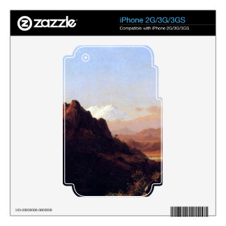 Frederic Edwin Church - In the tropics Skin For The iPhone 3G