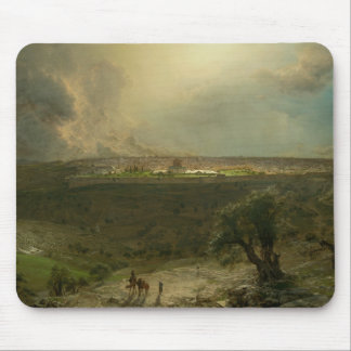 Frederic Edwin Church - Jerusalem from the Mount Mouse Pad