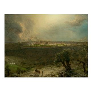 Frederic Edwin Church - Jerusalem from the Mount Postcard