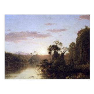Frederic Edwin Church - La Magdalena Post Card