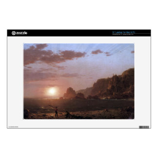 Frederic Edwin Church - Large Manan Island Bay of Decals For Laptops