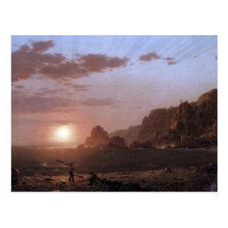 Frederic Edwin Church - Large Manan Island Bay of Postcard