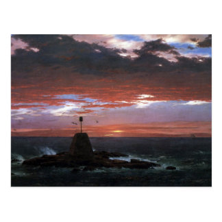 Frederic Edwin Church - Light of Mount Desert from Postcard